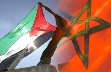 في اتصال هاتفي مع الرئيس الفلسطيني: جلالة الملك على أن المغرب يضع دائما القضية الفلسطينية في مرتبة قضية الصحراء المغربية