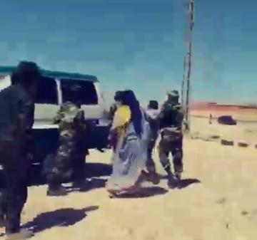 """خطير جبهة البوليساريو تستعرض عضلاتها على نساء صحراويات""""فيديو""""في تطور جديد لقضية العسكري التابع لجبهة…"""