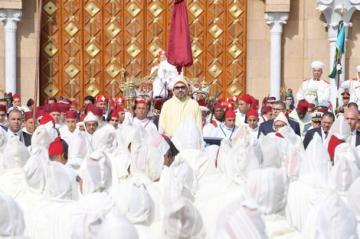 """الملك محمد السادس يترأس مراسيم """"حفل الولاء"""" في مدينة تطوان"""