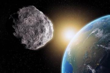 كويكب ضخم يقترب من اصطدام مباشر بالأرض
